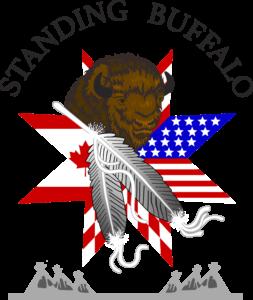 Standing Buffalo Logo